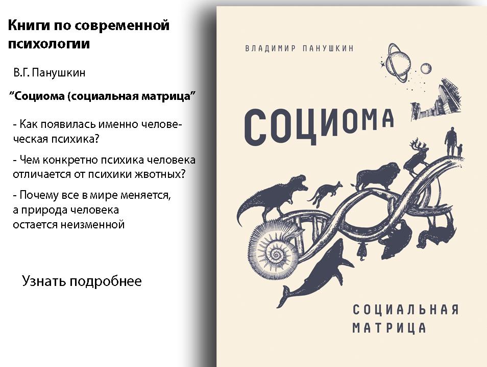 Книги по современной психологии